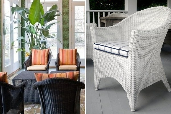 Get the Look: The Wicker Porch Chair