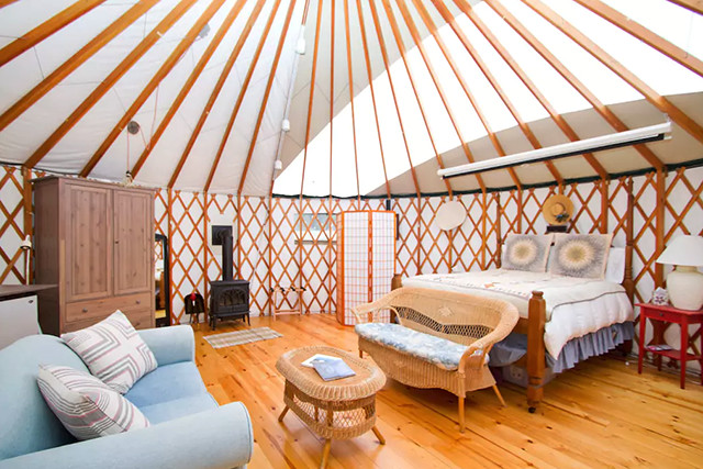 Yurts Where You Should Travel In 2018 According To Airbnb Lonny