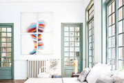 Painted Window Frames That Pop