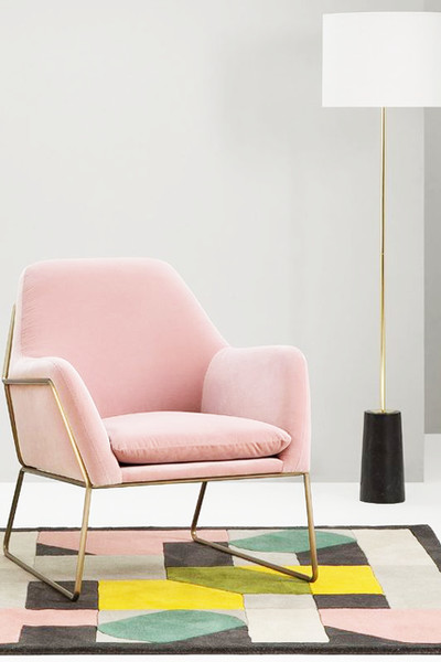 The Iconic Pink Seat