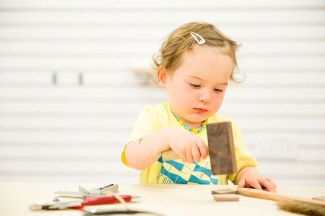 The Woodworking Shop for Budding Baby Designers