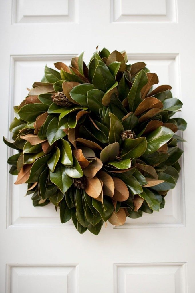 10 Unexpectedly Cool Holiday Wreaths - Decorating - Lonny