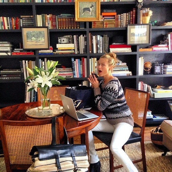 Carolyn Murphy's Perfect Home on Instagram