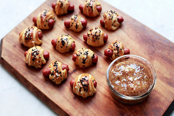 Pretzel Pigs in a Blanket to Help You Win the Super Bowl