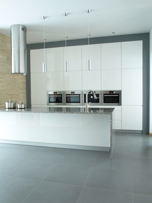Sleek and modern cool kitchen ideas lonny for Sleek modern kitchen ideas