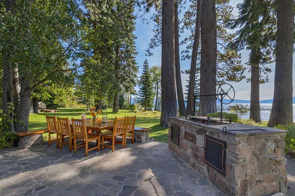 Barbecue Ready - Inside Mark Zuckerberg's $59 Million Lake Tahoe Compound - Lonny