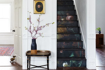 DIY To Try: Stunning Floral Staircase