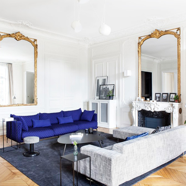 An Architect Redesigns a Classic Paris Apartment to Better Reflect Its Fun Owner