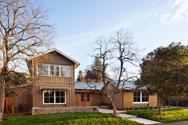 Home Tour: A Rustic-Chic Family Home in Menlo Park