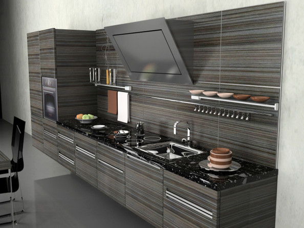 Heavenly horizontal cool kitchen ideas lonny for Cool kitchen design ideas