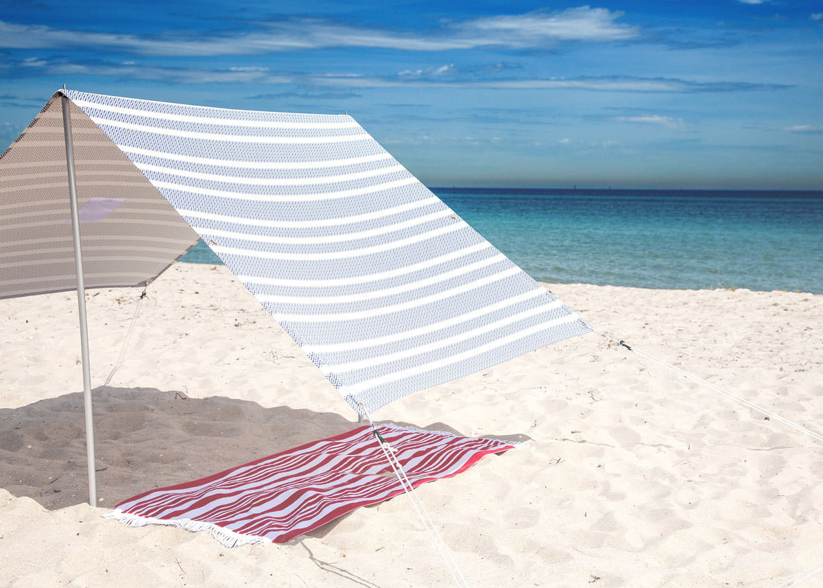 Beach Tent Canopy Shade : The perfect beach tent for summer family living lonny