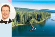Mark Zuckerberg Bought A $59 Million Lake Tahoe Compound
