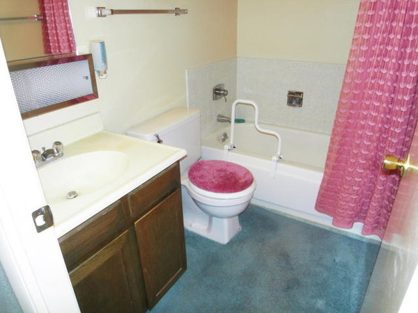 Carpeted Bathrooms