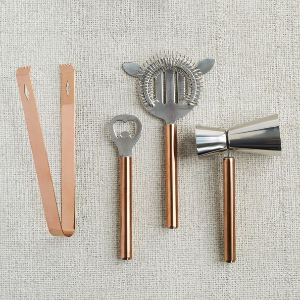 Copper Bar Tools by West Elm