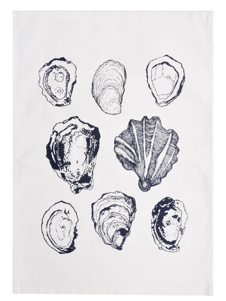 Oyster Tea Towel from LEIF