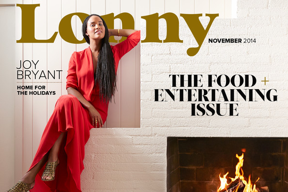 Glamorous cocktails, an autumn beach picnic, and homes from Paris to Brooklyn... Welcome to our Food + Entertaining issue, starring Parenthood's Joy Bryant.