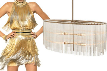 Versace vs. DwellStudio's Verona Chandelier