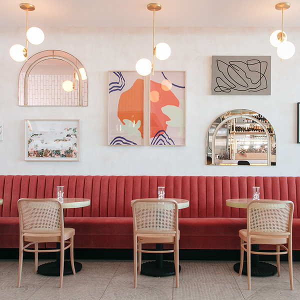 We're Tickled Pink By This Delightful California French Restaurant