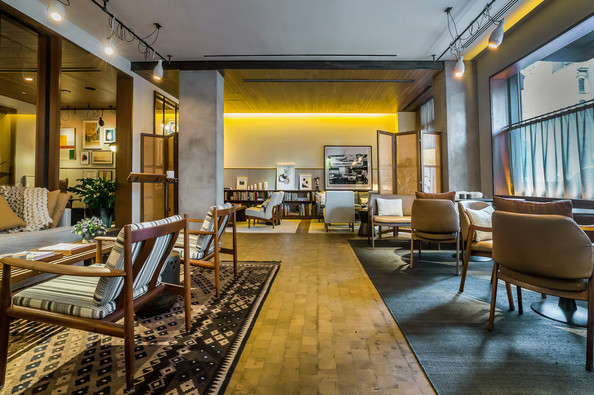 A Slick Redesign for the Smyth, a Thompson Hotel