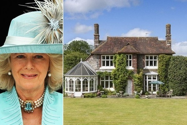The Childhood home of Camilla, the Duchess of Cornwall