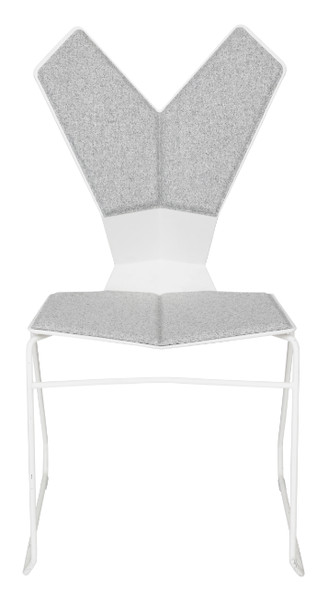 Y Chair in White by Tom Dixon