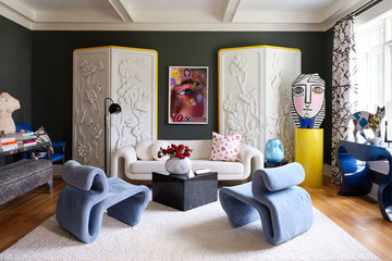 This Artist's Colorful Home Is a Visual Feast