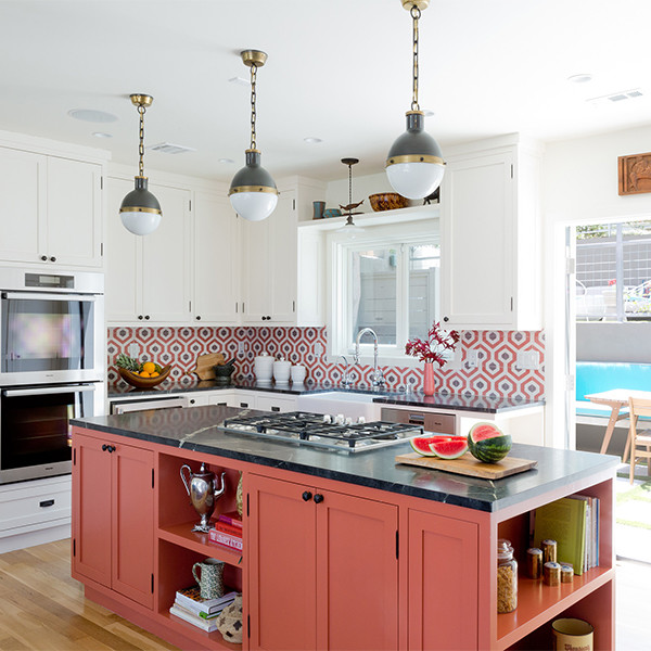 28 cool kitchen cabinet colors - Kitchen Cabinet Colors