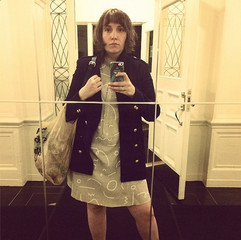 Lena Dunham's Selfie Connection to the Design World's Latest Obsession