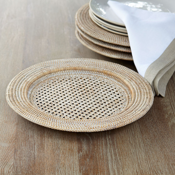 Rattan Chargers