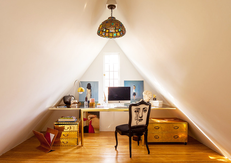 Get Creative - How To Create A Home Office When You Live In A Small-Space Apartment - Lonny