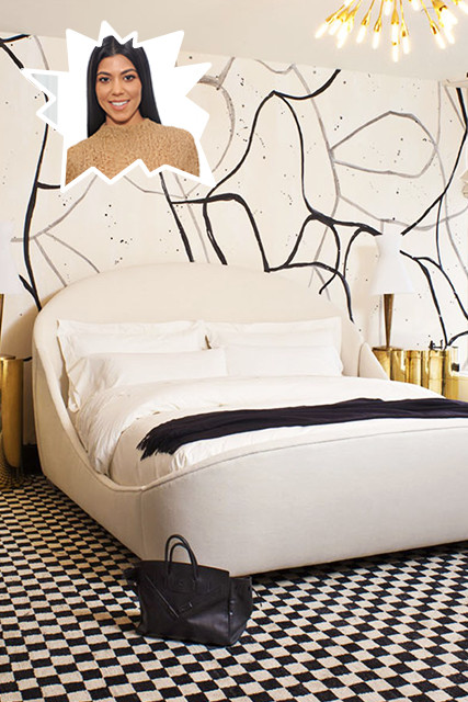Kourtney Kardashian The Best Celebrity Bedrooms Lonny