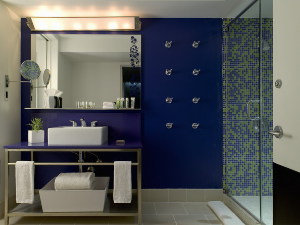 Deep Blue - Modern Bathrooms - Lonny