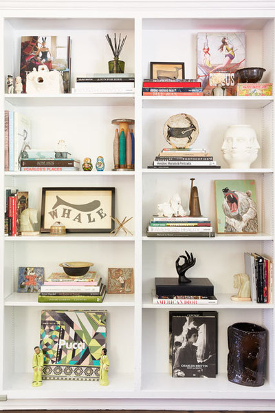 What are some of your favorite keepsakes on your bookshelf?
