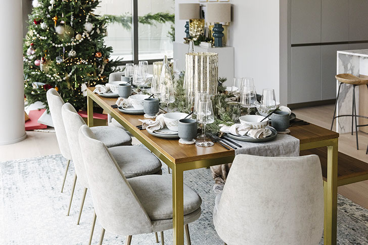 Tablescape - You Need To See The West Elm Holiday House Pop-Up In NYC - Lonny