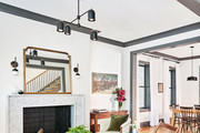 This Restored 19th Century Townhouse Channels Old-World Chicago