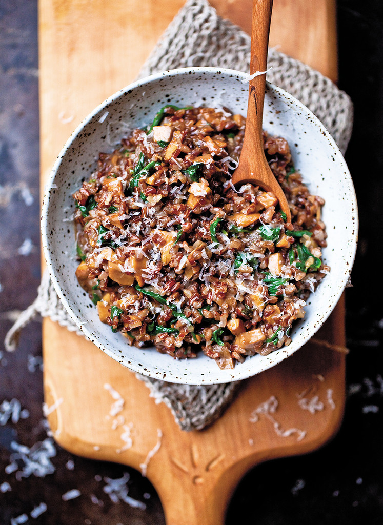 Yummy Supper Blogger Erin Scott's Red Rice Risotto | Lonny.com