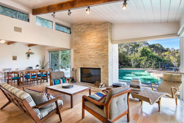 Inside Ellen Page's Hip $1.9 Million Mid-Century Hollywood Hills Bungalow