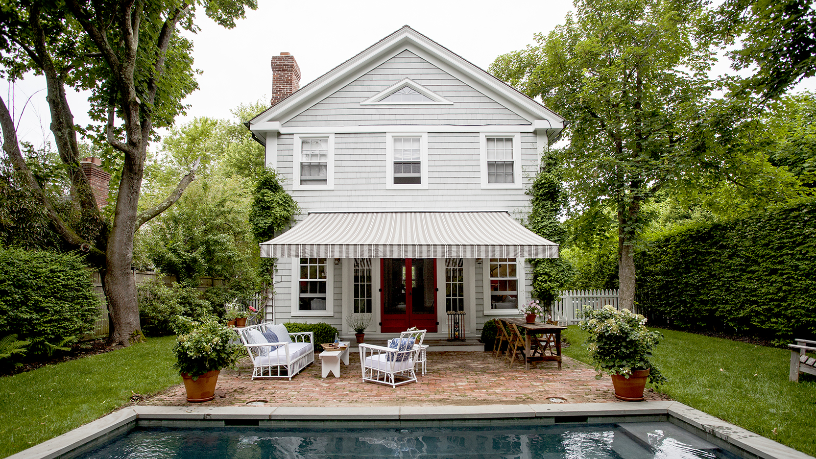 Blythe and Mark Harris's Sag Harbor home, designed in collaboration with San Francisco interiors maven Elizabeth Cooper.