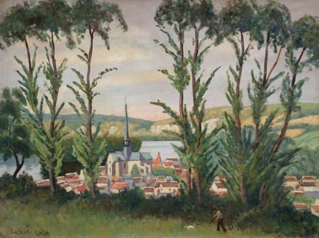 See 5 Generations of Pissarro Artwork in Austin, Texas | Lonny.com