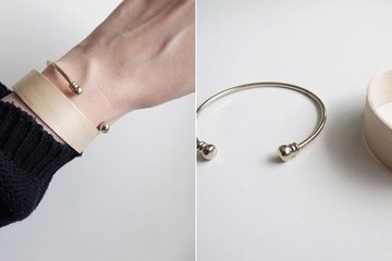 DIY To Try: Modern Wood Bracelet