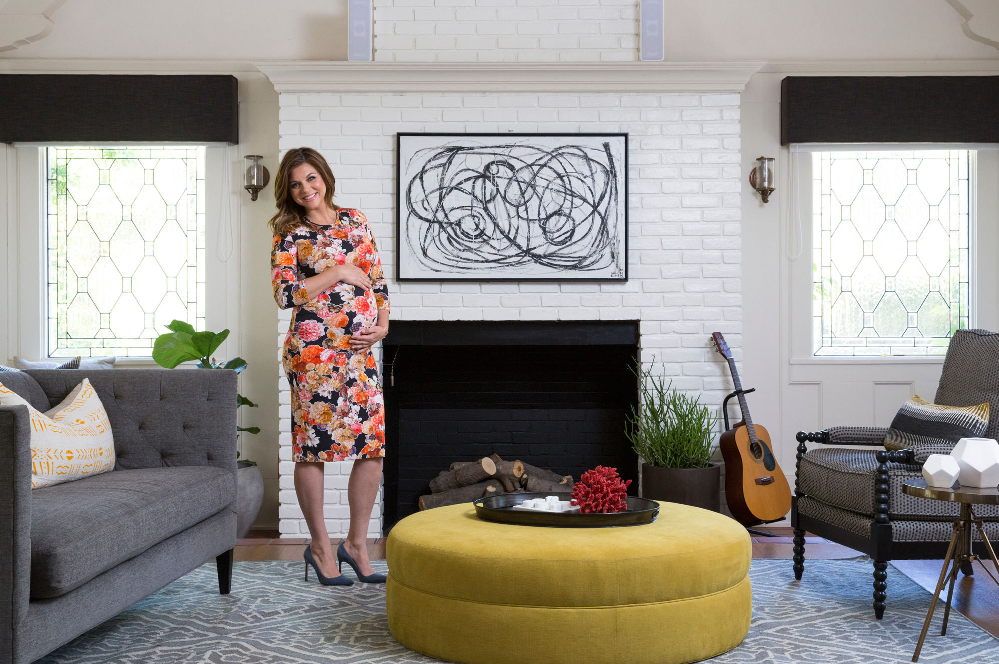 In Bloom Home Tour Tiffani Thiessen In Los Angeles Lonny