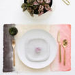 Dip-Dyed Placemats