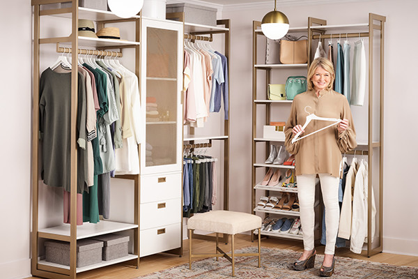 Martha Stewart Wants To Help You Organize Your Closet