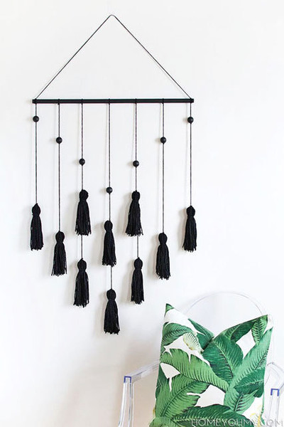 Tassel Wall Hanging