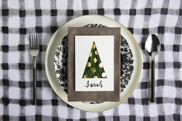 Pine Tree Placecard