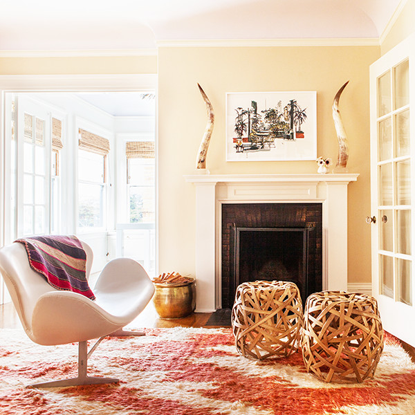12 Simple Ideas For Displaying Textiles In Your Home