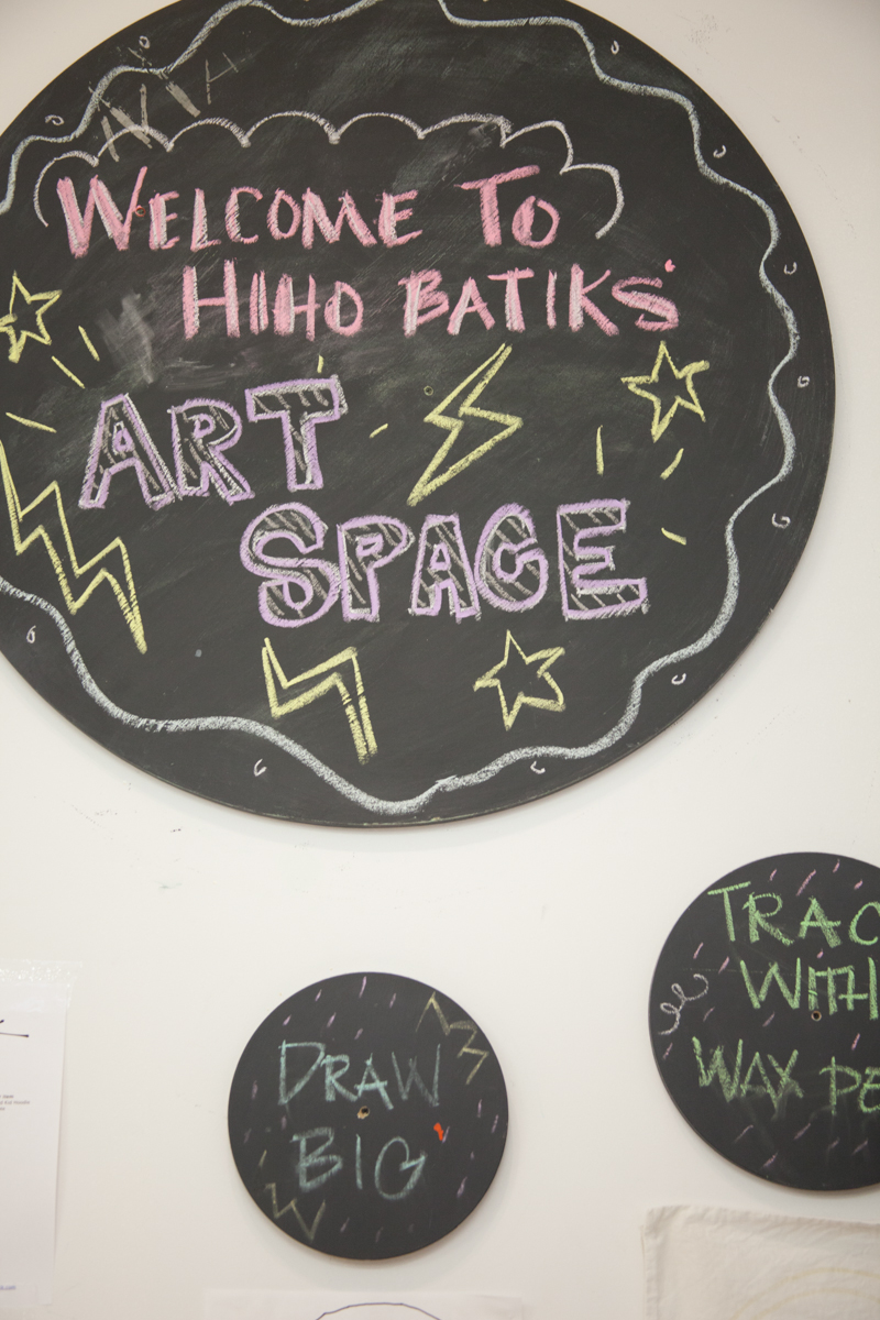 Located in the heart of Park Slope,Hiho Batik is a store,studio, and dye space that's a DIY haven.