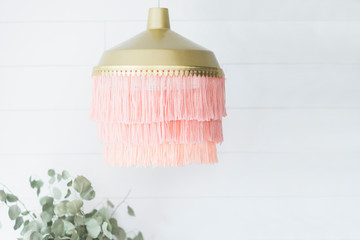 A Yarn Chandelier Has Never Looked This Good