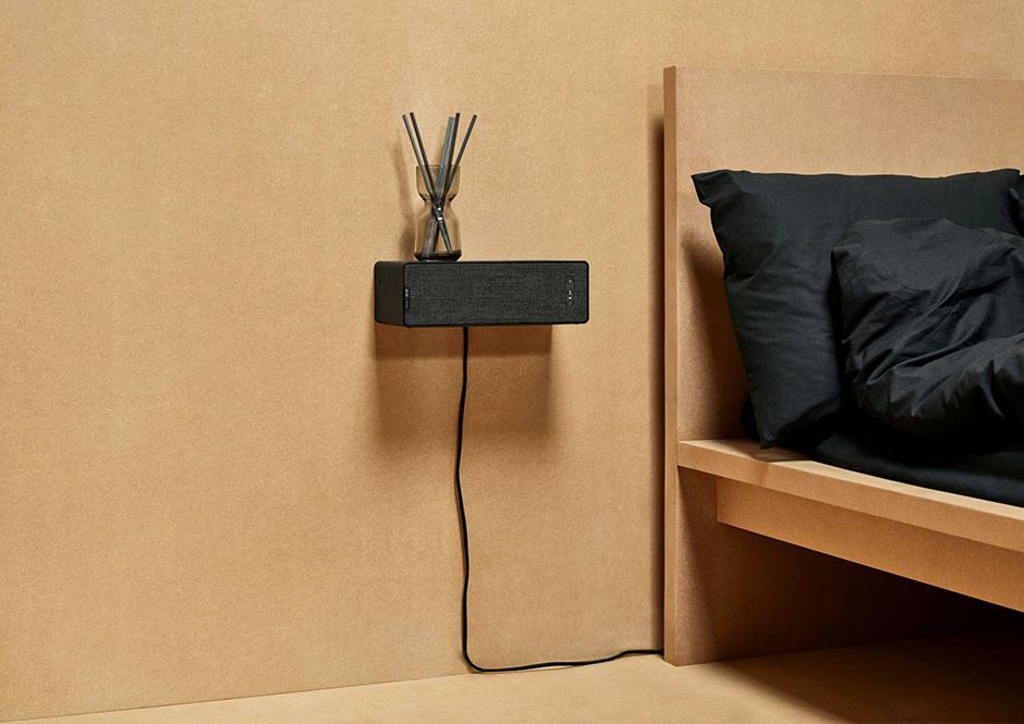 Is it a ledge? Is it a speaker? Consider it both.