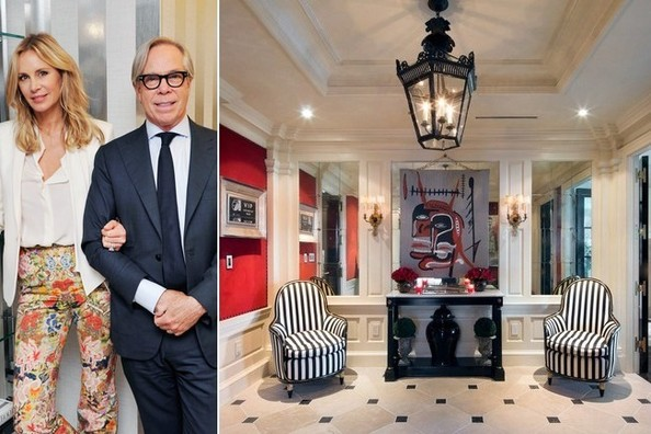Tommy Hilfiger's Penthouse at the Plaza Hotel - Lonny on ralph lauren furniture, michael kors furniture, pierre cardin furniture, dior furniture,